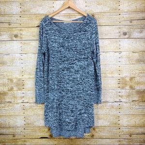 Sinuous Sweater top/ Dress Grey large